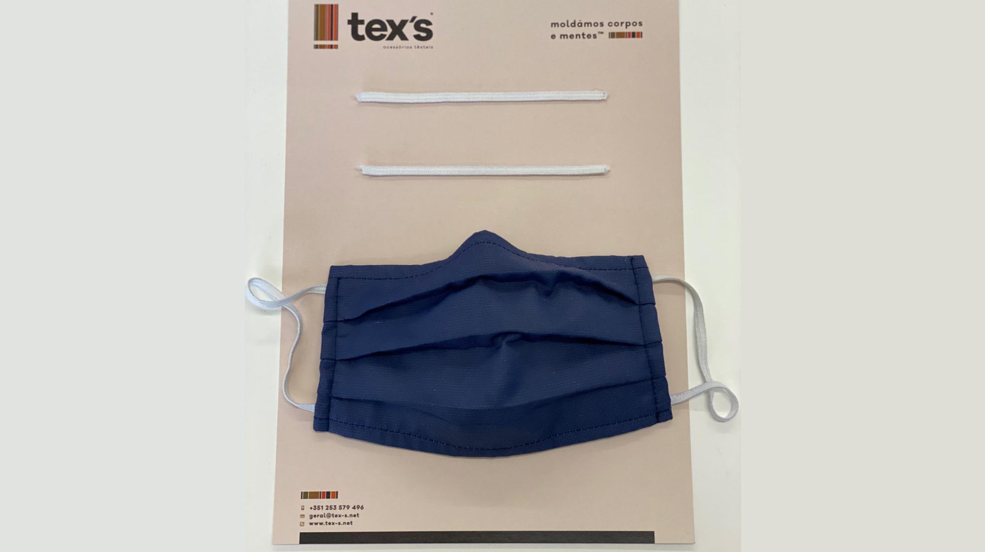 Tex's produz elásticos e clips nasais para máscaras